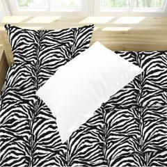 completo letto zebrato